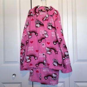 Hello Kitty Womens M 2 pc pajama set